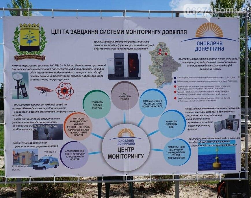 В Бахмуте заработала система мониторинга атмосферного воздуха, фото-5