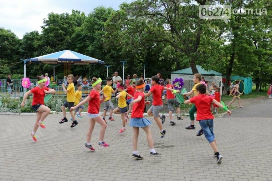 В Бахмуте открылся веревочный парк «Маугли», фото-7