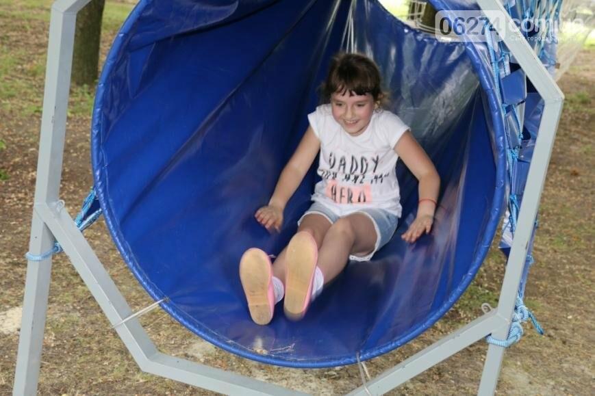 В Бахмуте открылся веревочный парк «Маугли», фото-2