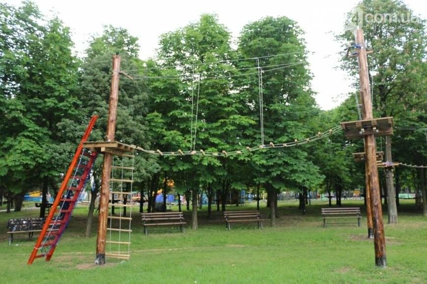 В Бахмуте открылся веревочный парк «Маугли», фото-5