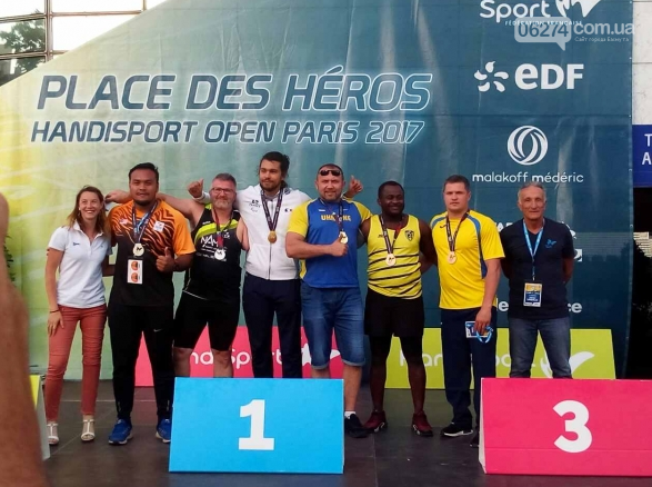 Бахмутские спортсмены завоевали две медали на Чемпионате Парижа, фото-4