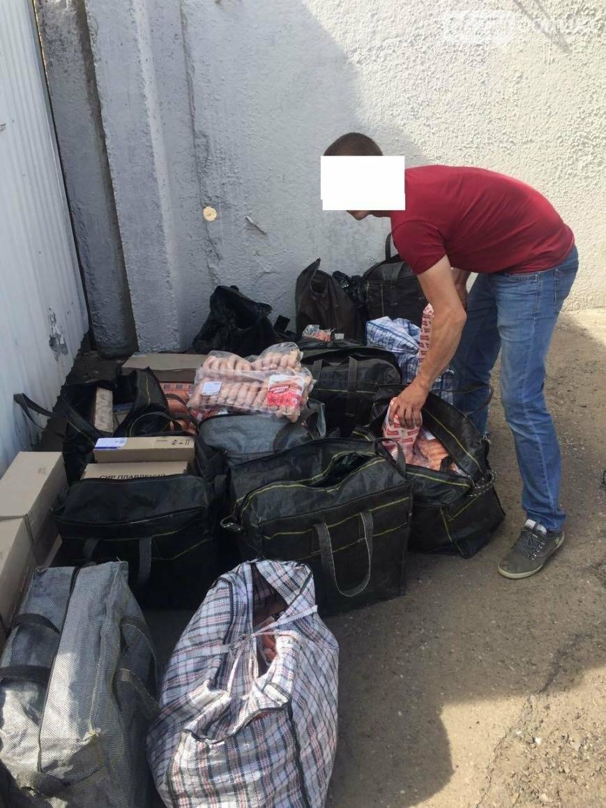 Мимо очереди и проверок: пограничники задержали автомобиль, который обходил КПВВ в зоне АТО, фото-1