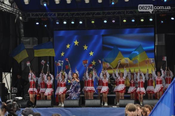 Делегация из Бахмута приняла участие в праздновании Дня Европы в Покровске, фото-11