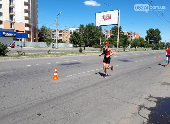Бахмутчанин успешно выступил во Всеукраинском турнире по триатлону в Полтаве, фото-1