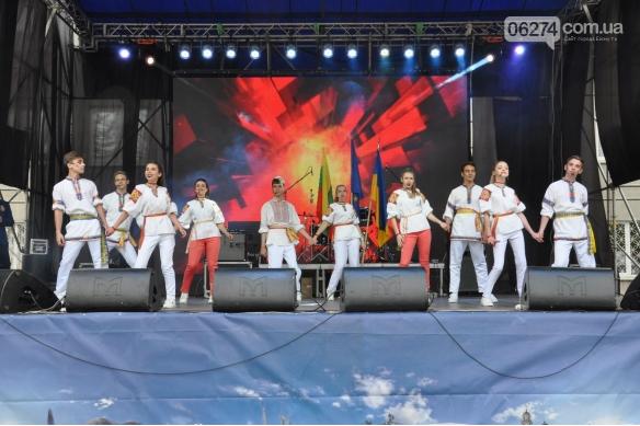 Делегация из Бахмута приняла участие в праздновании Дня Европы в Покровске, фото-13