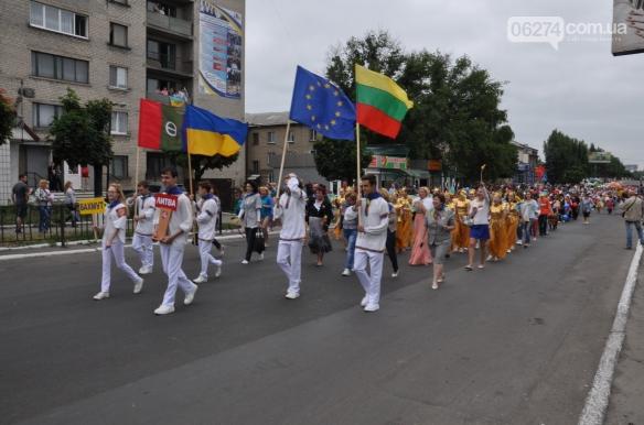Делегация из Бахмута приняла участие в праздновании Дня Европы в Покровске, фото-1