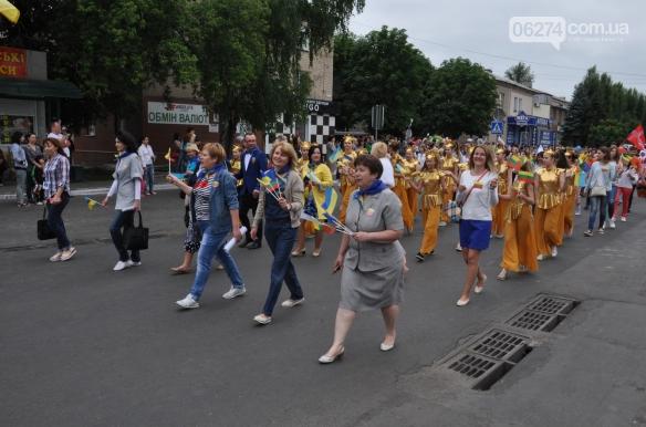 Делегация из Бахмута приняла участие в праздновании Дня Европы в Покровске, фото-4