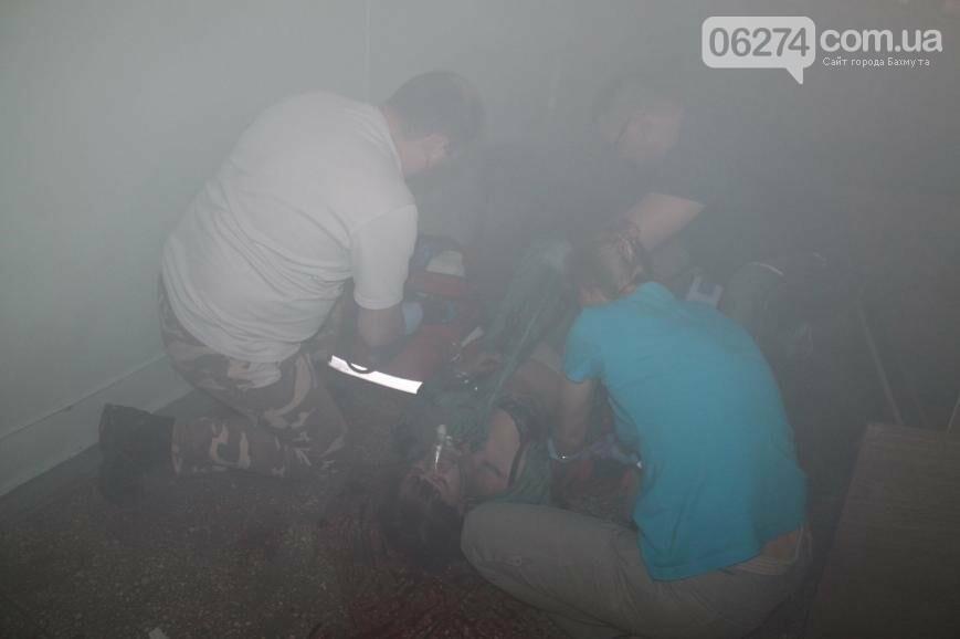 12 «пострадавших школьников» спасали врачи Бахмута после «взрыва» (ФОТО), фото-2
