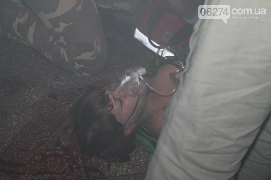 12 «пострадавших школьников» спасали врачи Бахмута после «взрыва» (ФОТО), фото-4