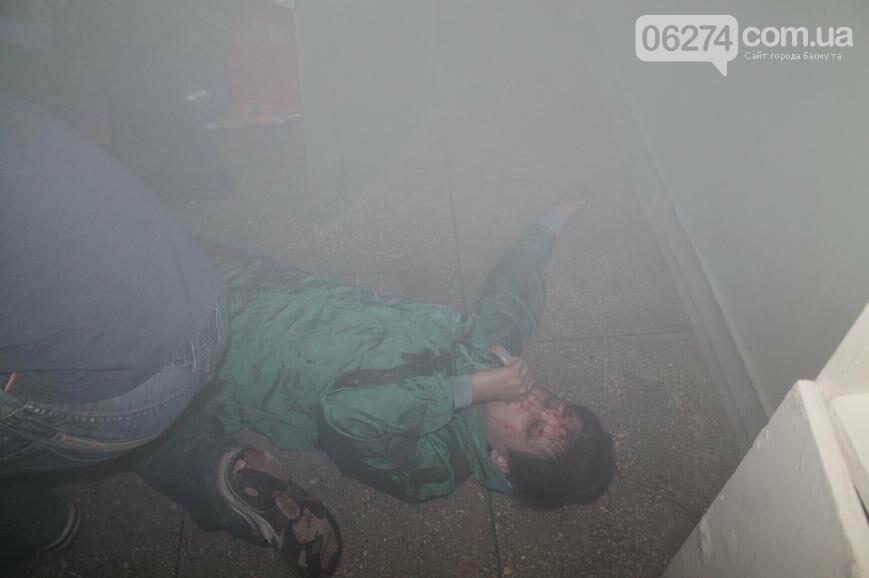 12 «пострадавших школьников» спасали врачи Бахмута после «взрыва» (ФОТО), фото-6