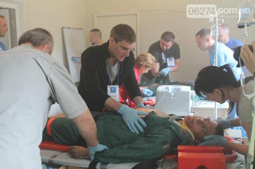 12 «пострадавших школьников» спасали врачи Бахмута после «взрыва» (ФОТО), фото-7