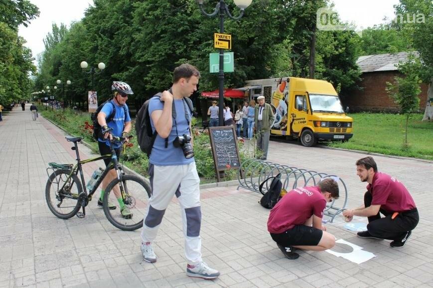 Новые вело-парковки появились в Бахмуте (ФОТО), фото-3