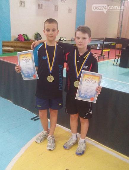 Чемпионом Украины по настольному теннису стал юный бахмутчанин, фото-2