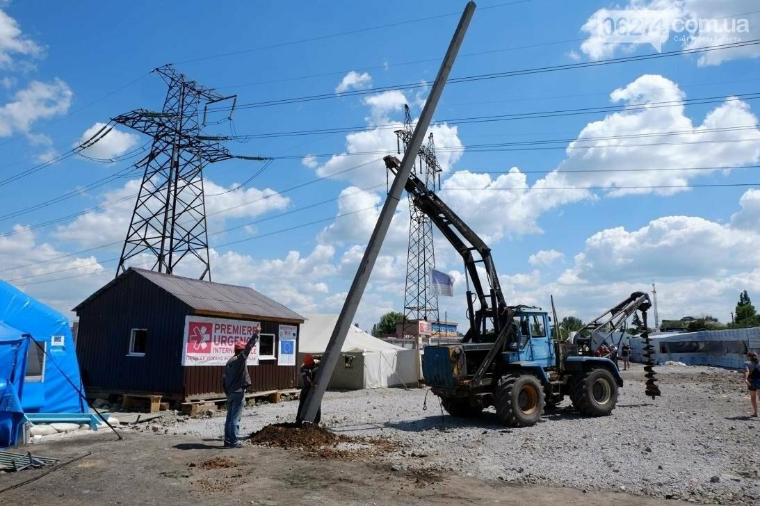 В прифронтовых поселках Бахмутского района решают проблему с электроснабжением (ФОТО), фото-7