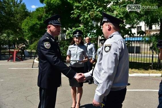 Новые внедорожники глава областной полиции передал в Бахмут и в другие города Донецкой области, фото-4