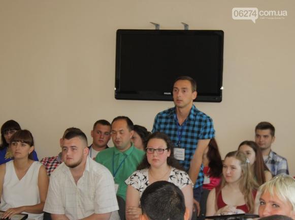 В Бахмуте прошла встреча молодежного актива с городским головой, фото-14
