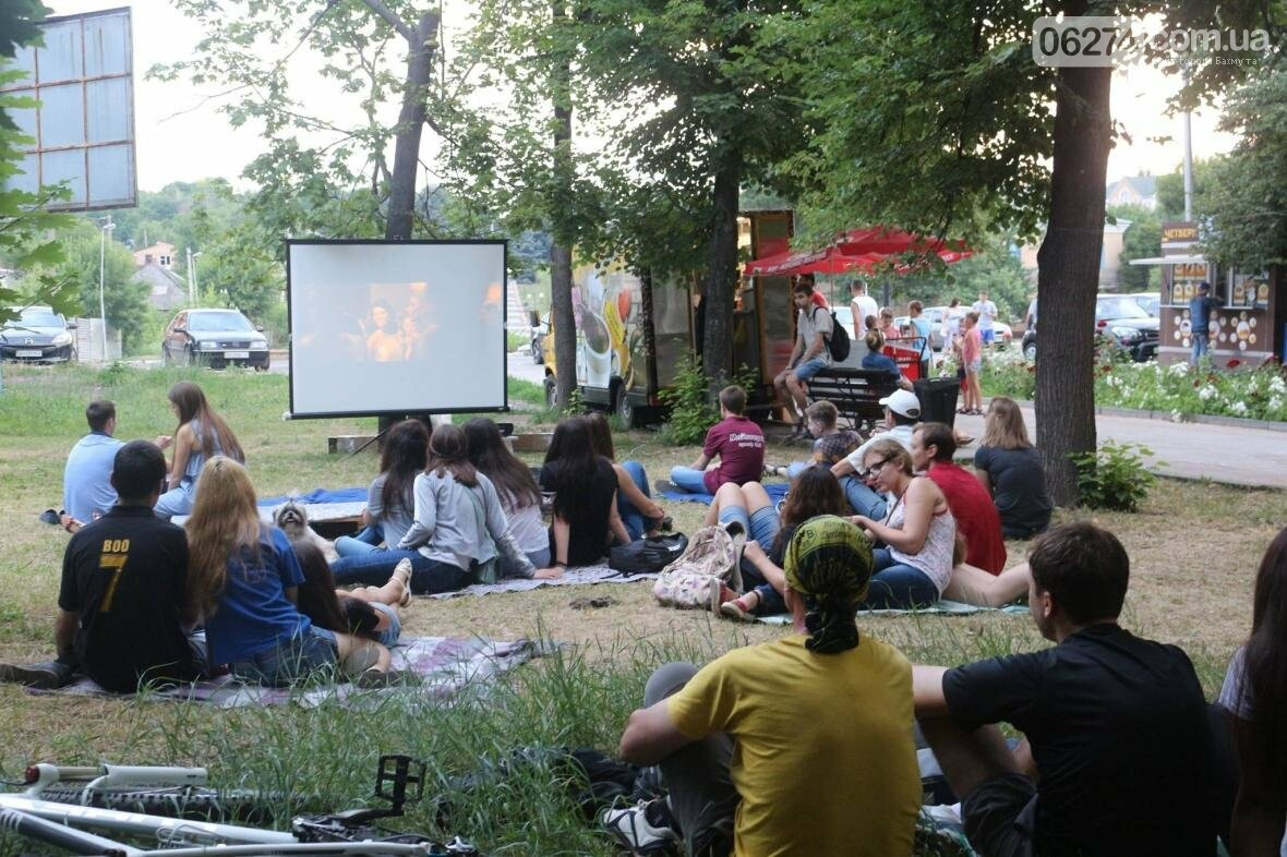 В Бахмуте Фестиваль европейского кино собрал творческую молодежь, фото-3