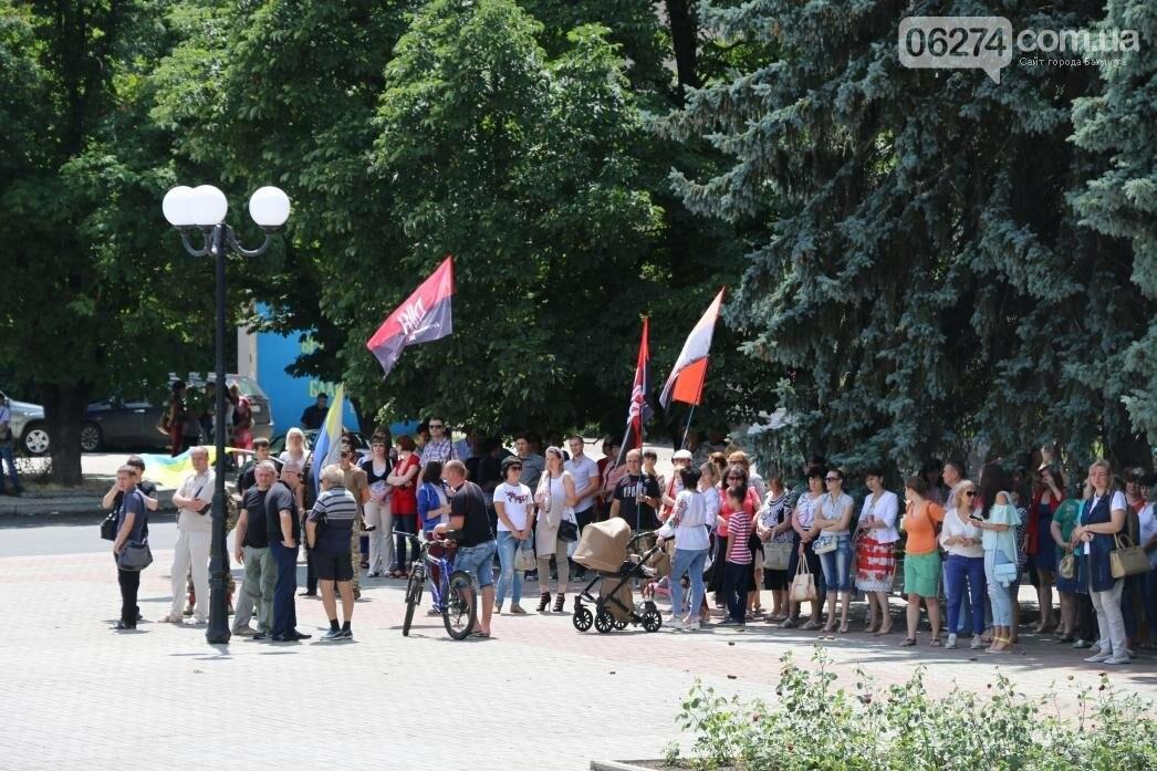 В Бахмуте развернули один из самых больших национальных флагов в Украине, фото-3