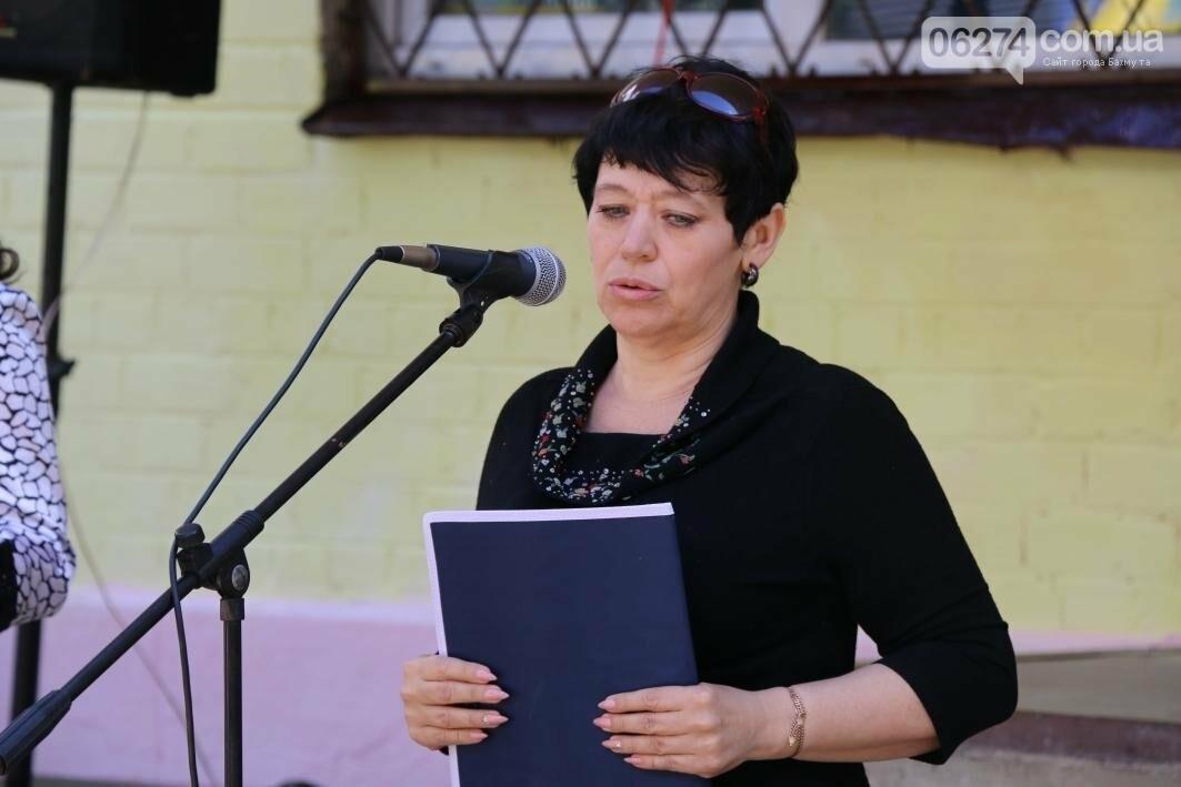 Мемориальную доску в Бахмуте открыли в честь защитников Украины, фото-8