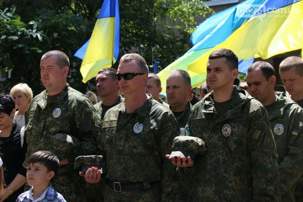 Мемориальную доску в Бахмуте открыли в честь защитников Украины, фото-3