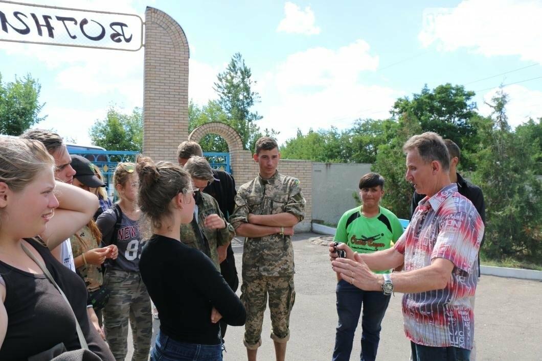 Схід та Захід разом: дети из лагеря «Вогник» встретились с жителями Западных областей Украины, фото-1