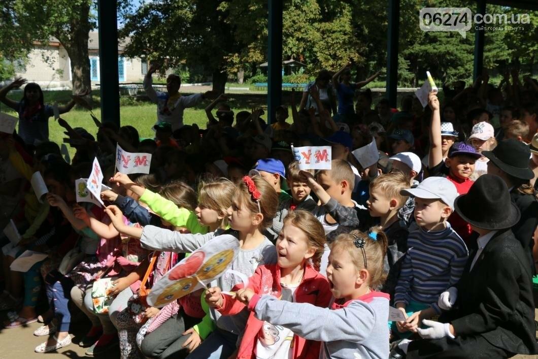 Схід та Захід разом: дети из лагеря «Вогник» встретились с жителями Западных областей Украины, фото-11