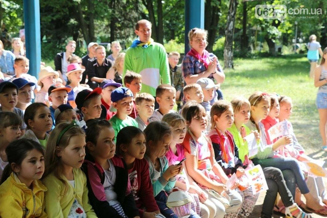 Схід та Захід разом: дети из лагеря «Вогник» встретились с жителями Западных областей Украины, фото-17