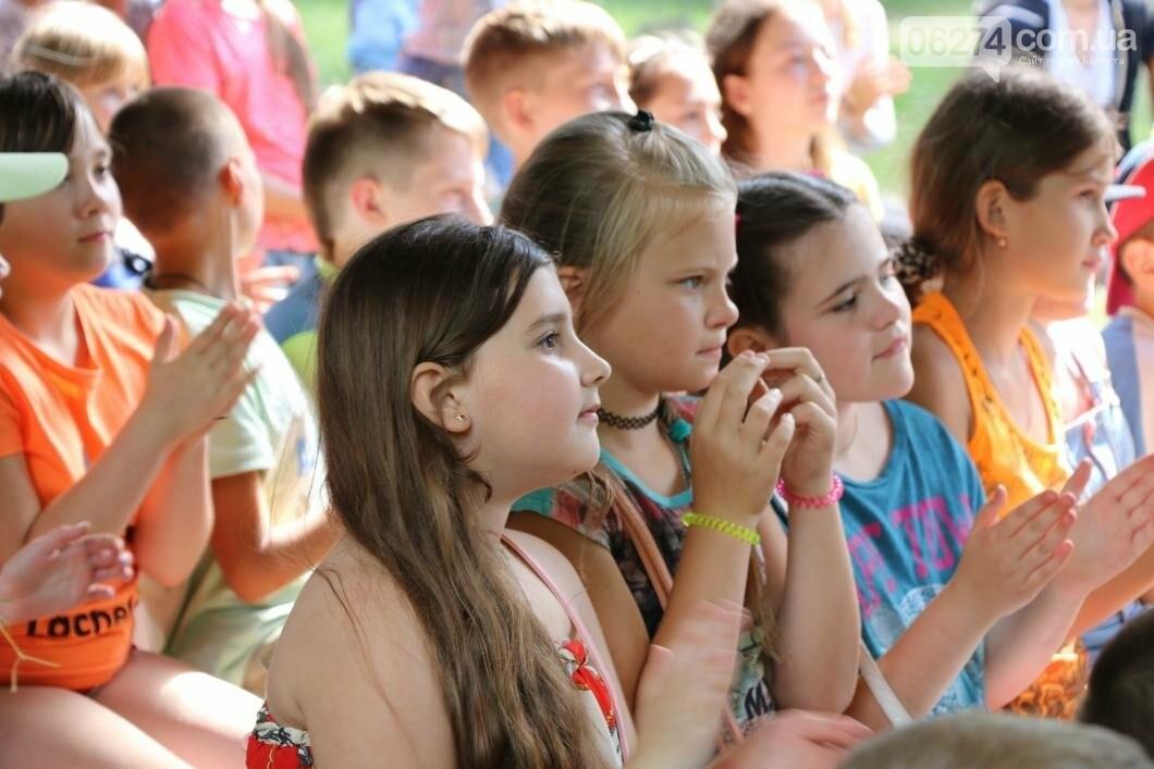 Схід та Захід разом: дети из лагеря «Вогник» встретились с жителями Западных областей Украины, фото-5