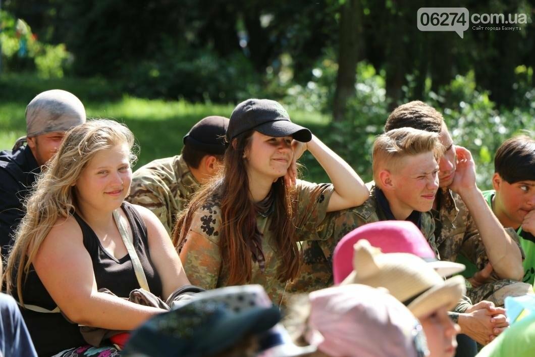 Схід та Захід разом: дети из лагеря «Вогник» встретились с жителями Западных областей Украины, фото-13