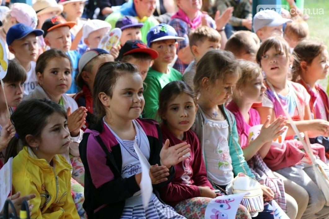 Схід та Захід разом: дети из лагеря «Вогник» встретились с жителями Западных областей Украины, фото-2