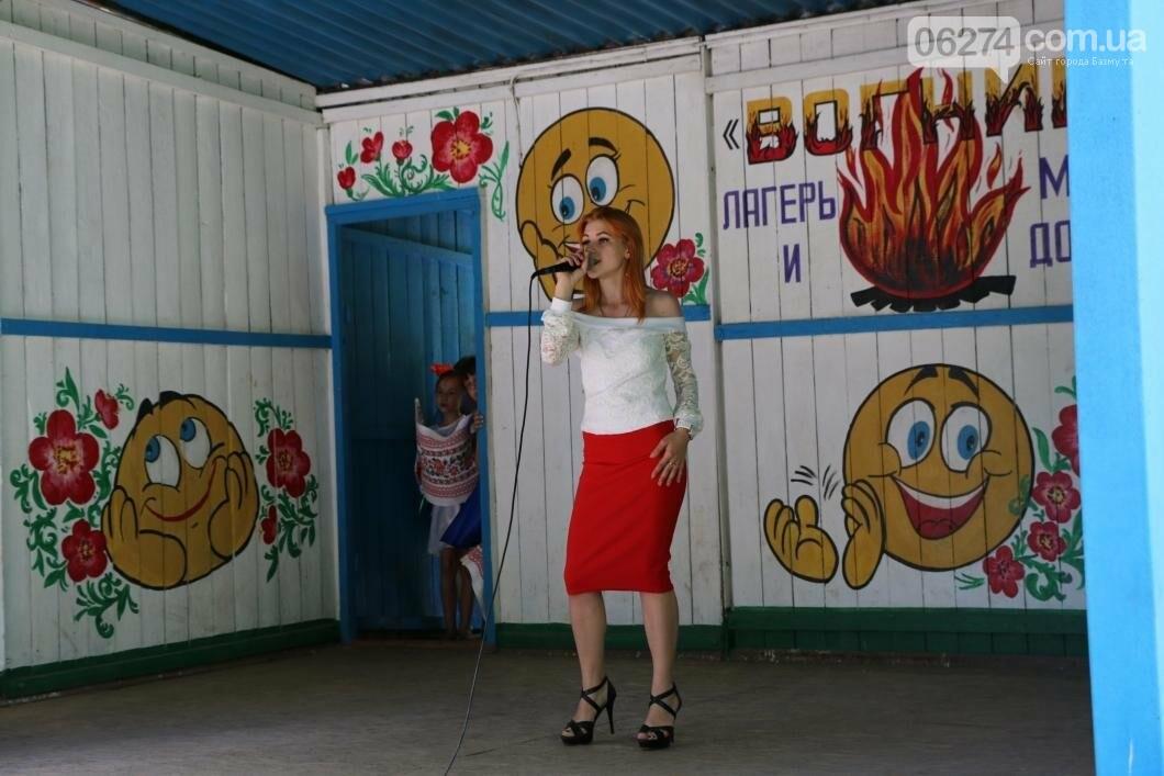 Схід та Захід разом: дети из лагеря «Вогник» встретились с жителями Западных областей Украины, фото-12