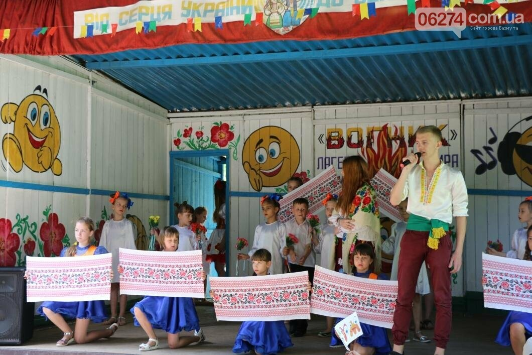 Схід та Захід разом: дети из лагеря «Вогник» встретились с жителями Западных областей Украины, фото-10