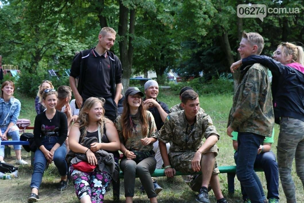 Схід та Захід разом: дети из лагеря «Вогник» встретились с жителями Западных областей Украины, фото-7