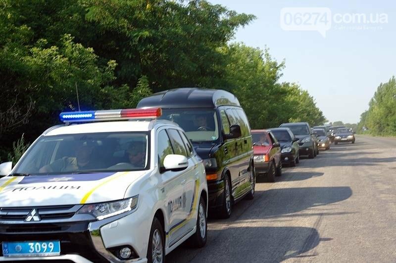 Правоохранители Бахмута обеспечили общественную безопасность во время праздника первого снопа, фото-1