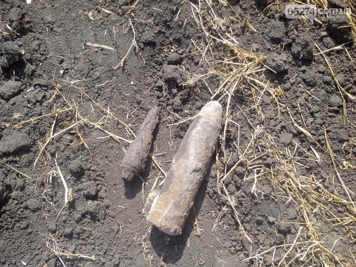 В Бахмутском районе пиротехники продолжают находить взрывоопасные предметы, фото-2