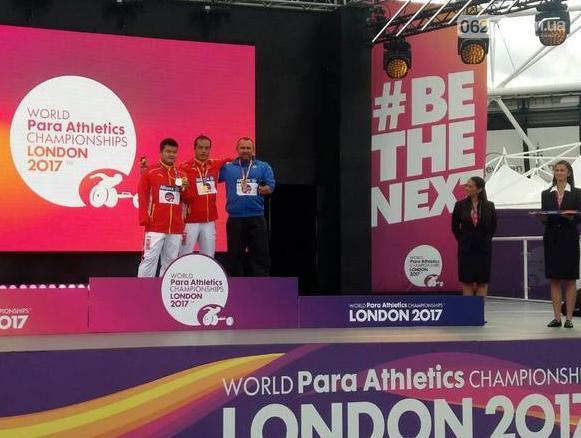 Бахмут достойно представил на Чемпионате мира в Лондоне Дмитрий Ибрагимов, фото-1