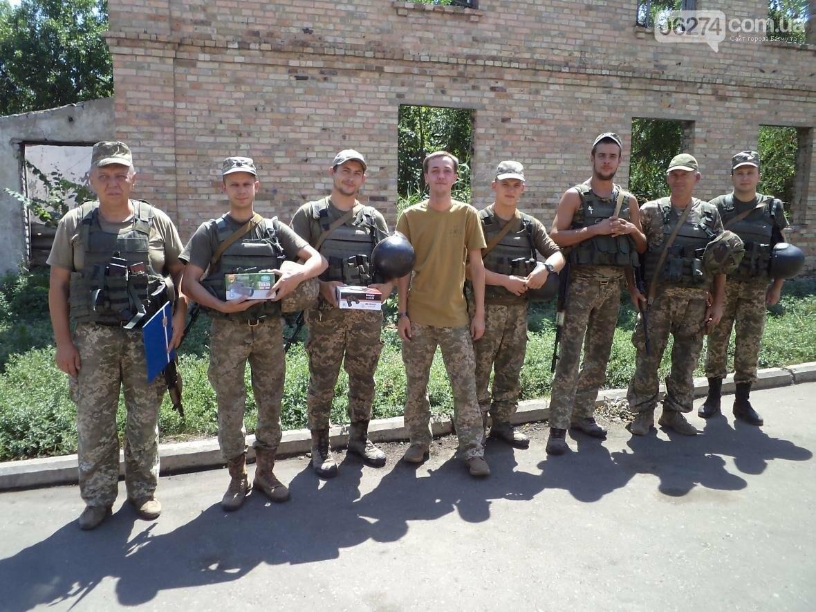 Украинские бойцы получили поддержку от бахмутчан, фото-5