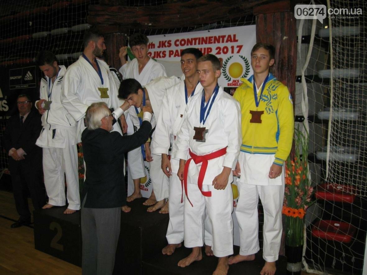 Каратисты Бахмута достойно представили Украину на Кубке Европы, фото-1