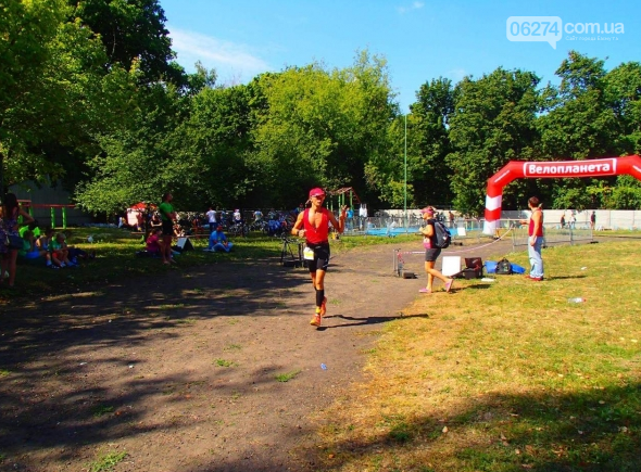 Бахмутчанин Юрий Кожуховский снова успешно выступил в соревнованиях по триатлону, фото-3