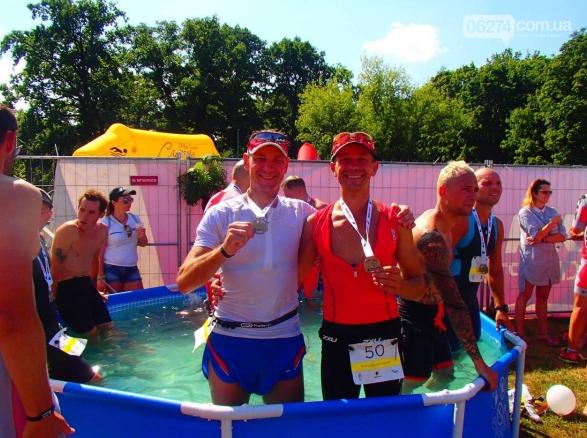 Бахмутчанин Юрий Кожуховский снова успешно выступил в соревнованиях по триатлону, фото-6