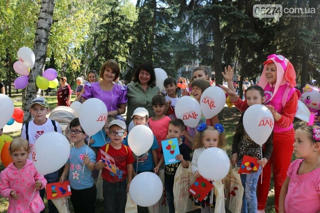 В День рождения города дети из клуба «Лучик» получили подарки, фото-9