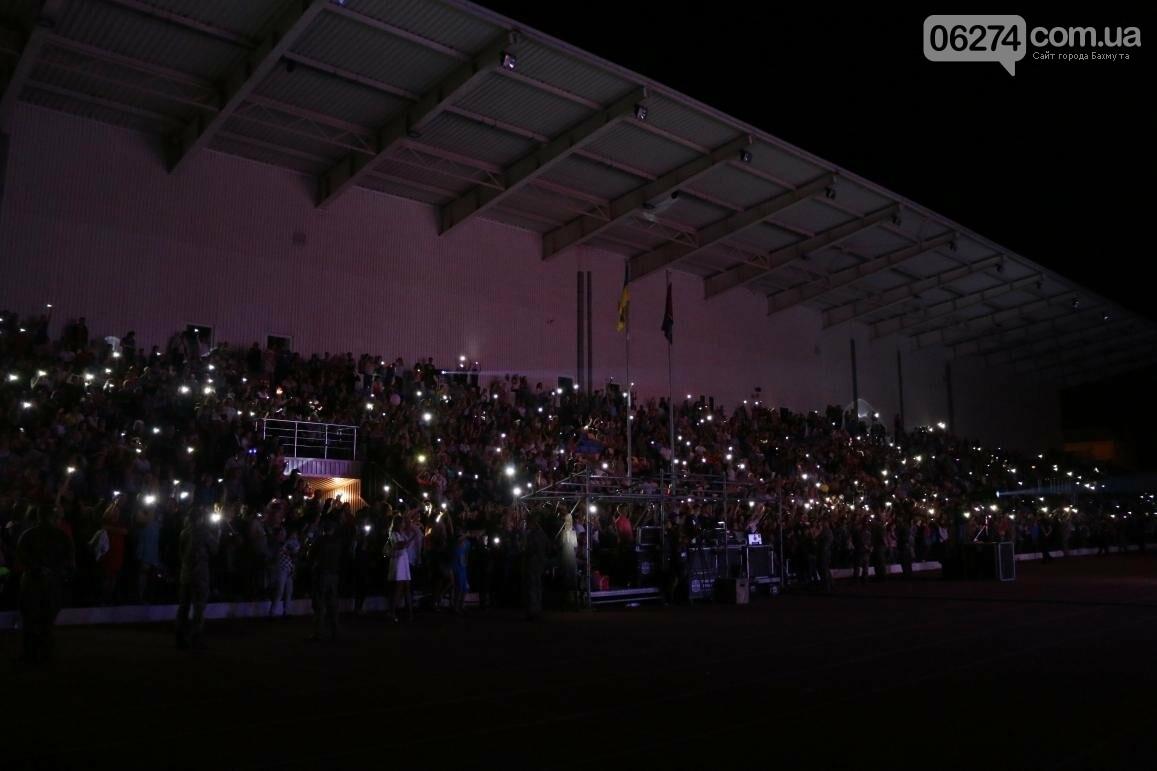 Грандиозным концертом завершился День города в Бахмуте (ФОТООТЧЕТ), фото-13