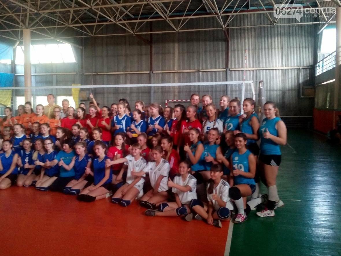 Волейболистки из Бахмута стали третьими на чемпионате области, фото-2
