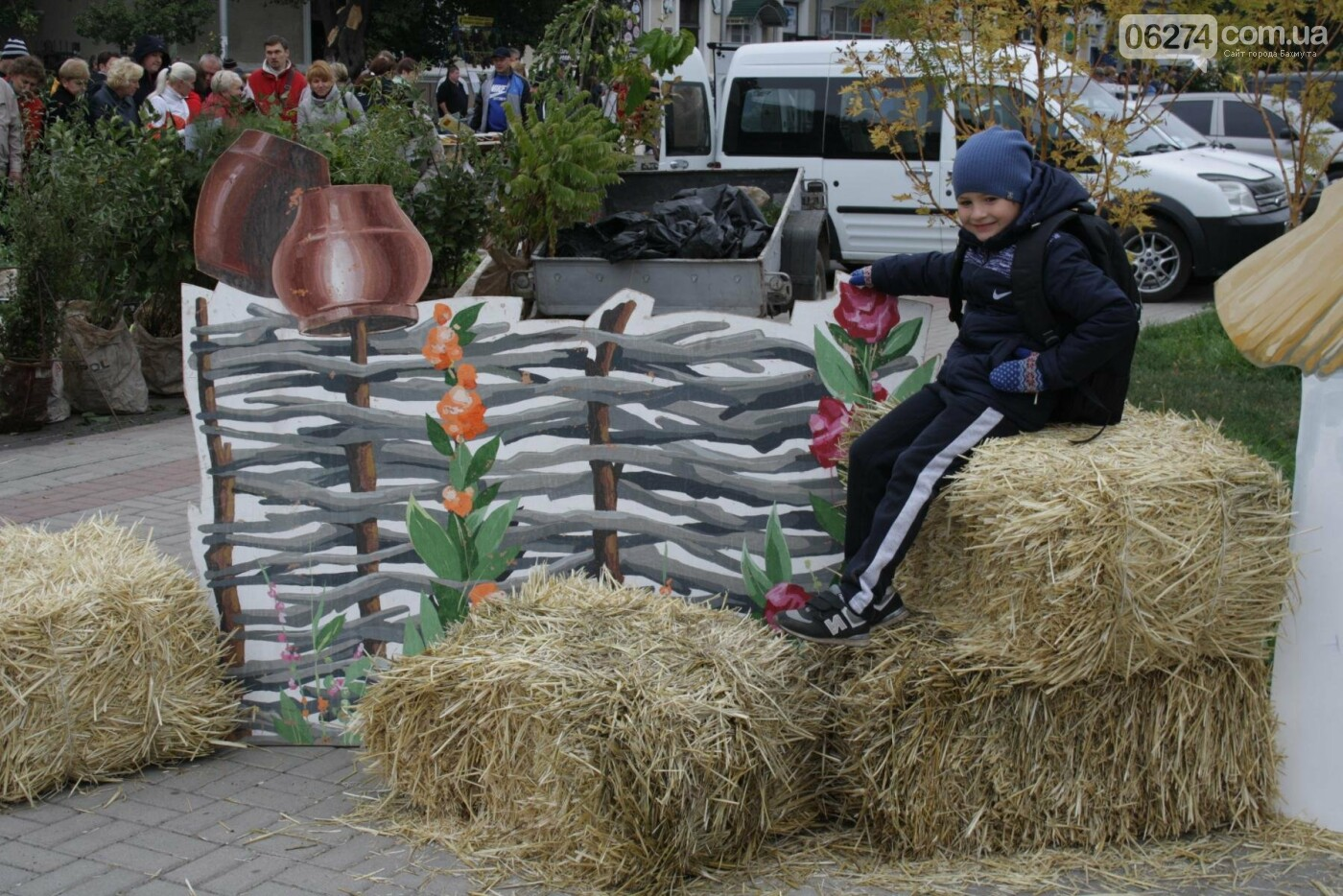 В Бахмуте открылась ярмарка «День садовода», фото-11