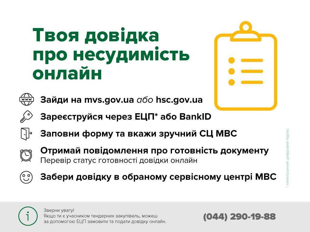 Новый сервис МВД: справку об отсутствии судимости теперь можно заказать онлайн, фото-2