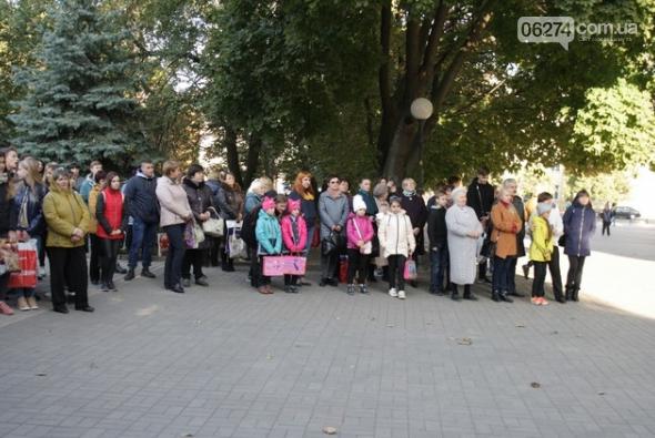 В Бахмуте выступил оркестр полиции Донецкой области в рамках проекта «Восток и Запад – вместе», фото-2