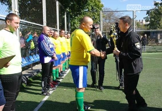 В футбольном матче сразились полицейские Донецкой и Закарпатской областей (ФОТО), фото-14