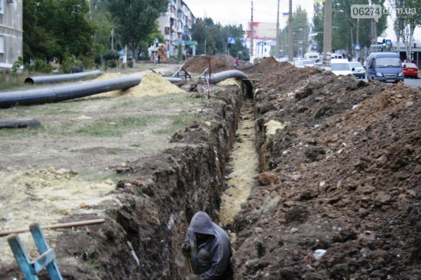 В Бахмуте продолжаются работы по инфраструктурным проектам и благоустройству города, фото-21