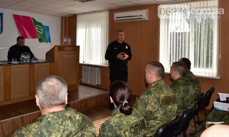 Генерал Семенишин проинспектировал работу Бахмутского отдела полиции, фото-1