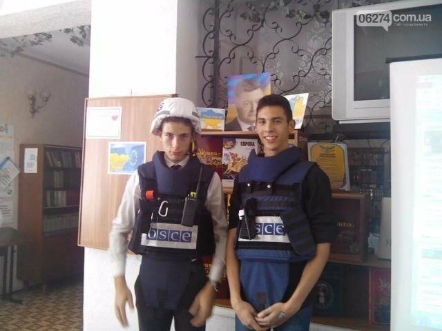 Представители ОБСЕ побывали в одной из школ Бахмута, фото-3